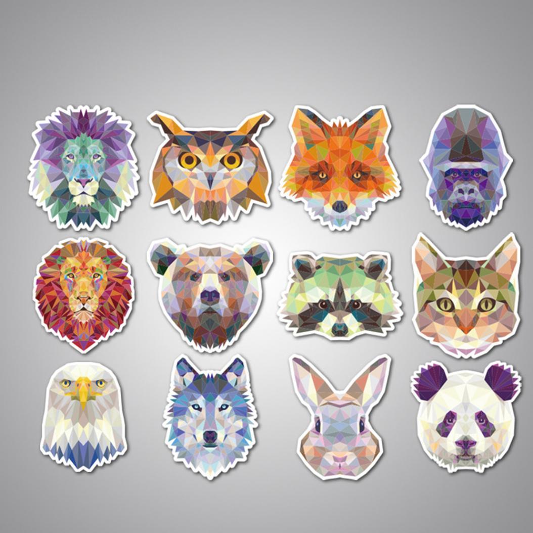 Печать наклеек животных в Москве | фото 7