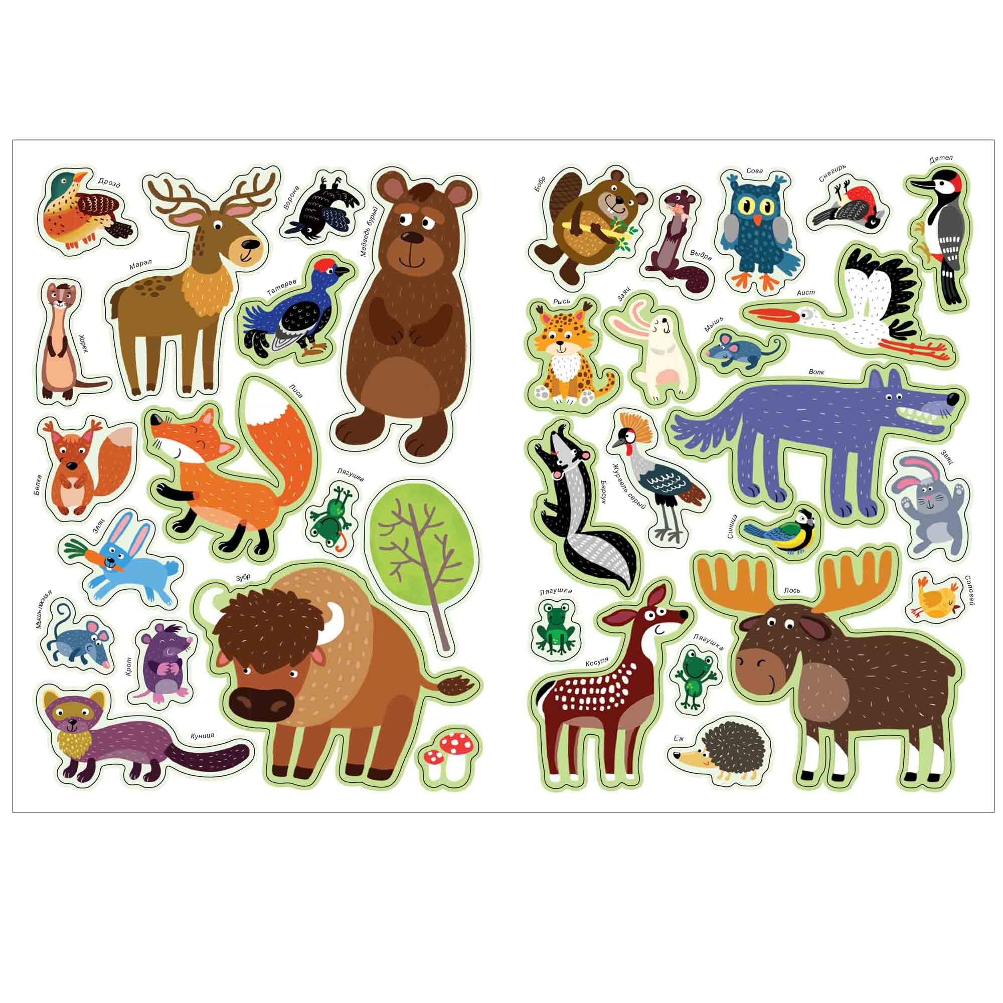 Печать наклеек животных в Москве | фото 8
