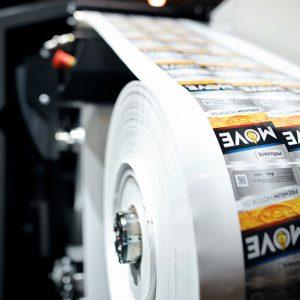 Цифровая печать наклеек