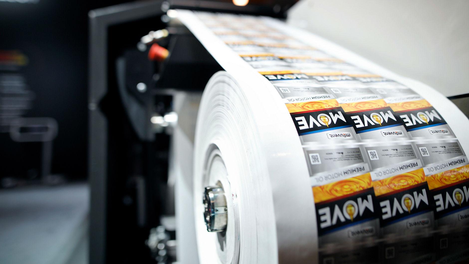 Цифровая печать наклеек в Москве   фото 1