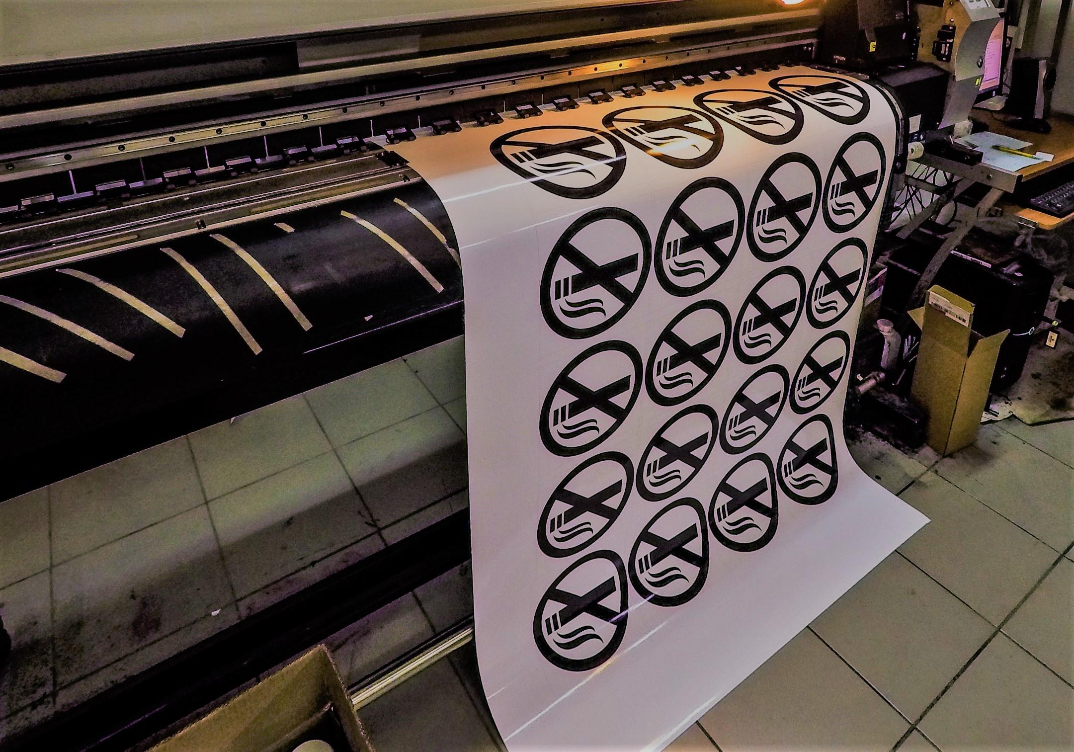 УФ печать наклеек в Москве   фото 2